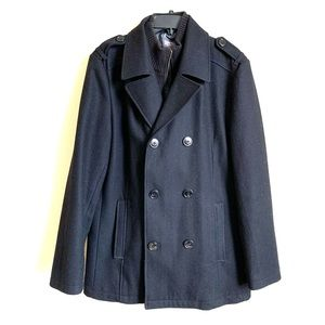 Kenneth Cole Reaction Men's Wool Pea Coat